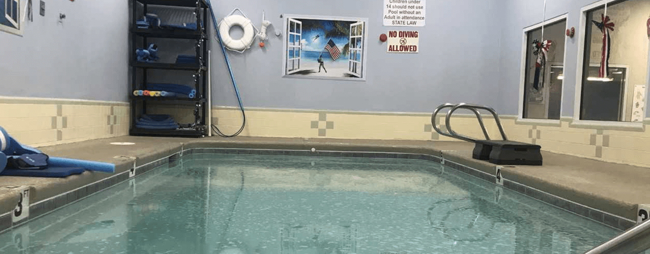 trawood pool border therapy Aquatic Therapy