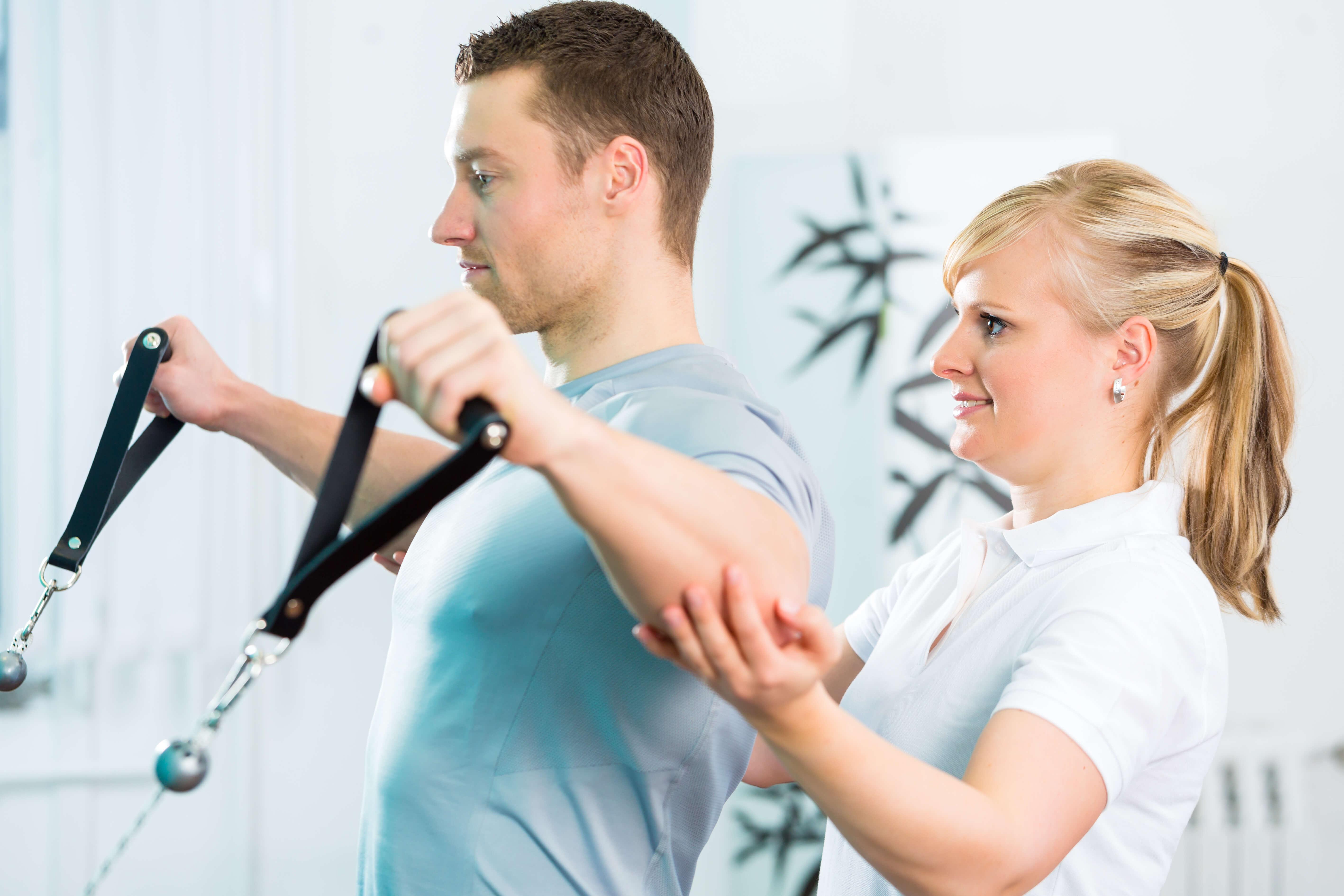 Sports injury rehab