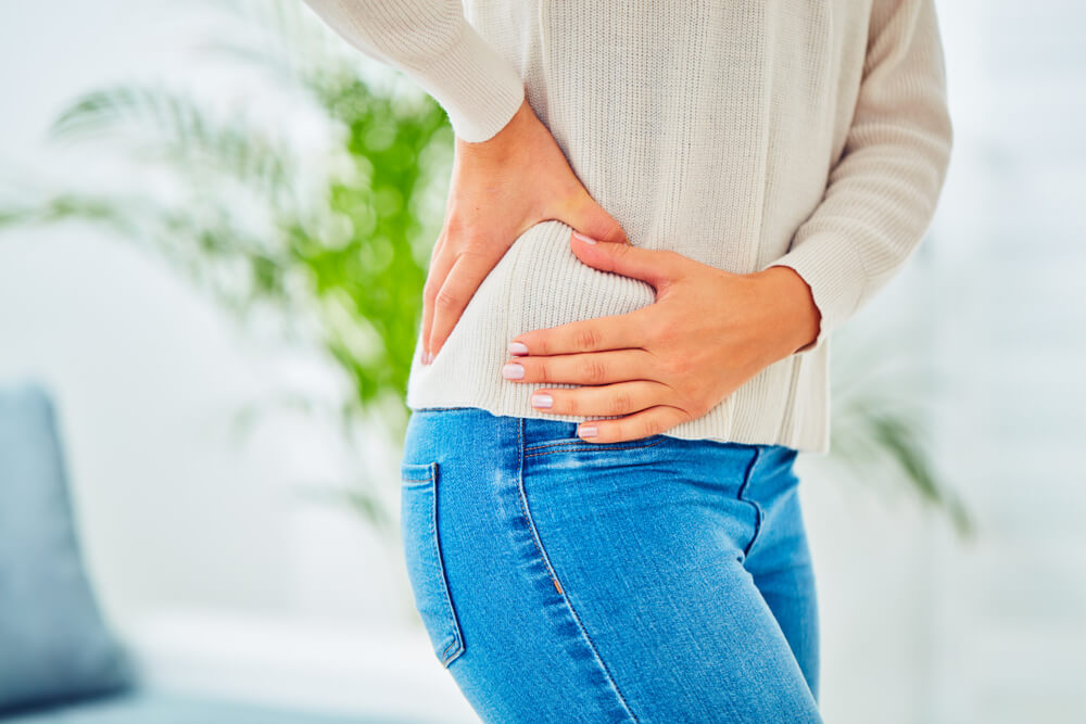 dull pain in hip
