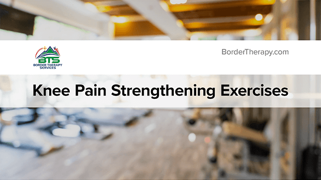 Knee Pain Strengthening Exercises Thumbnail